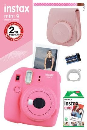 Fujifilm Instax Mini 9 Pembe Fotoğraf Makinesi Ve Hediye Seti 3 /