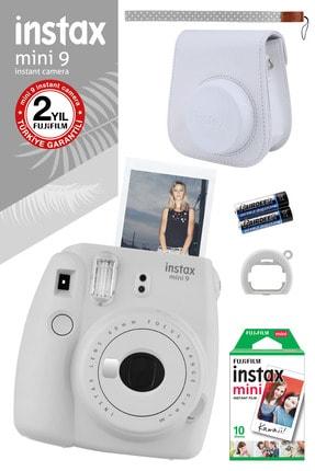 Fujifilm Instax Mini 9 Beyaz Fotoğraf Makinesi Ve Hediye Seti 3 /