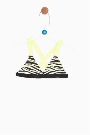 Tyess Kız Çocuk Zebra Bikini