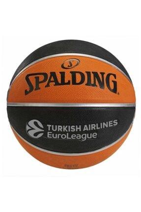 SPALDING Tf-150 Euro League No 7 Basketbol Topu Basket Topu 2020
