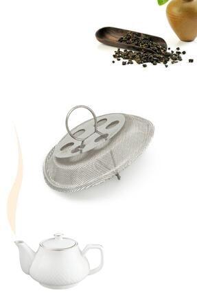Hayveys 5'li Demlik Içi Tak Çıkar Çelik Çay Süzgeci