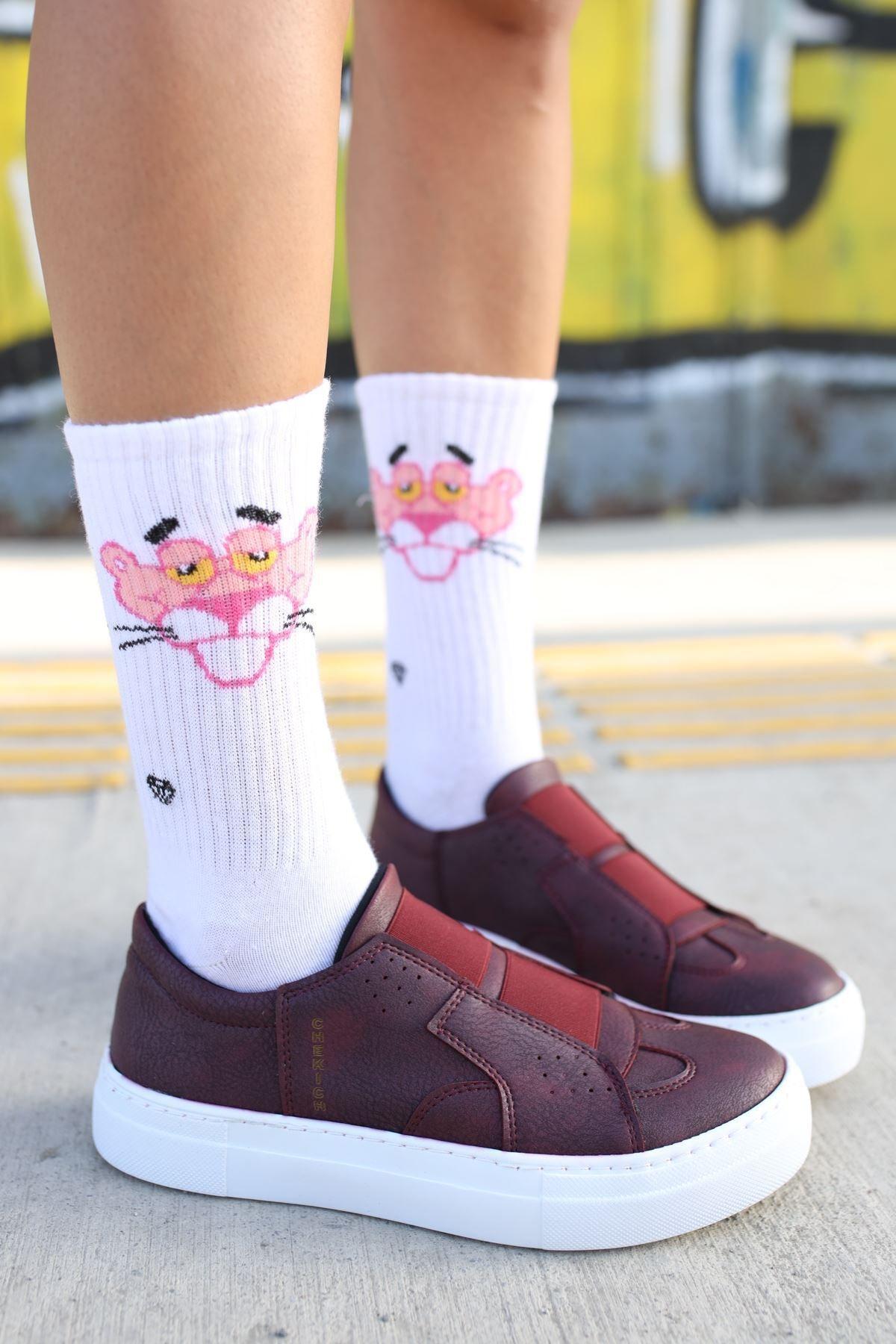Chekich Ch033 Bt Kadın Ayakkabı Bordo 1