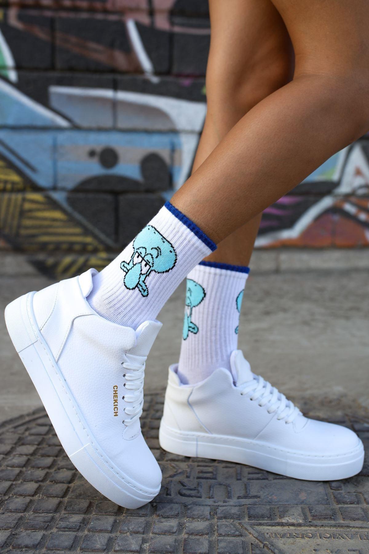 Chekich Ch004 Bt Kadın Ayakkabı Beyaz 2