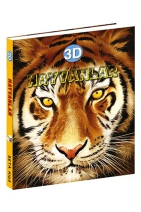 Beta Kids Hayvanlar 3d Ciltli