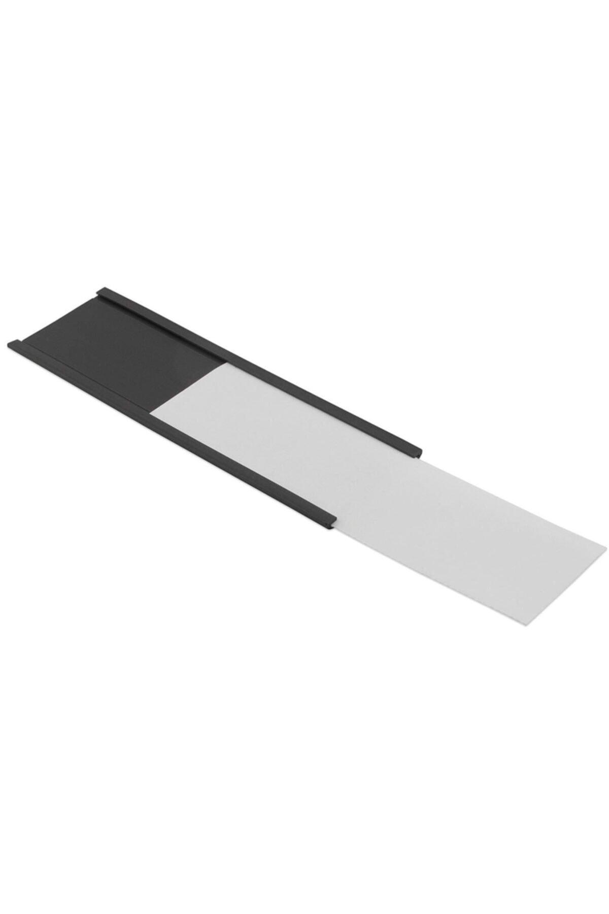 Dünya Magnet Kanallı Etiketlik Şerit Mıknatıs Raf Magneti En 40 cm Boy 1 m 1