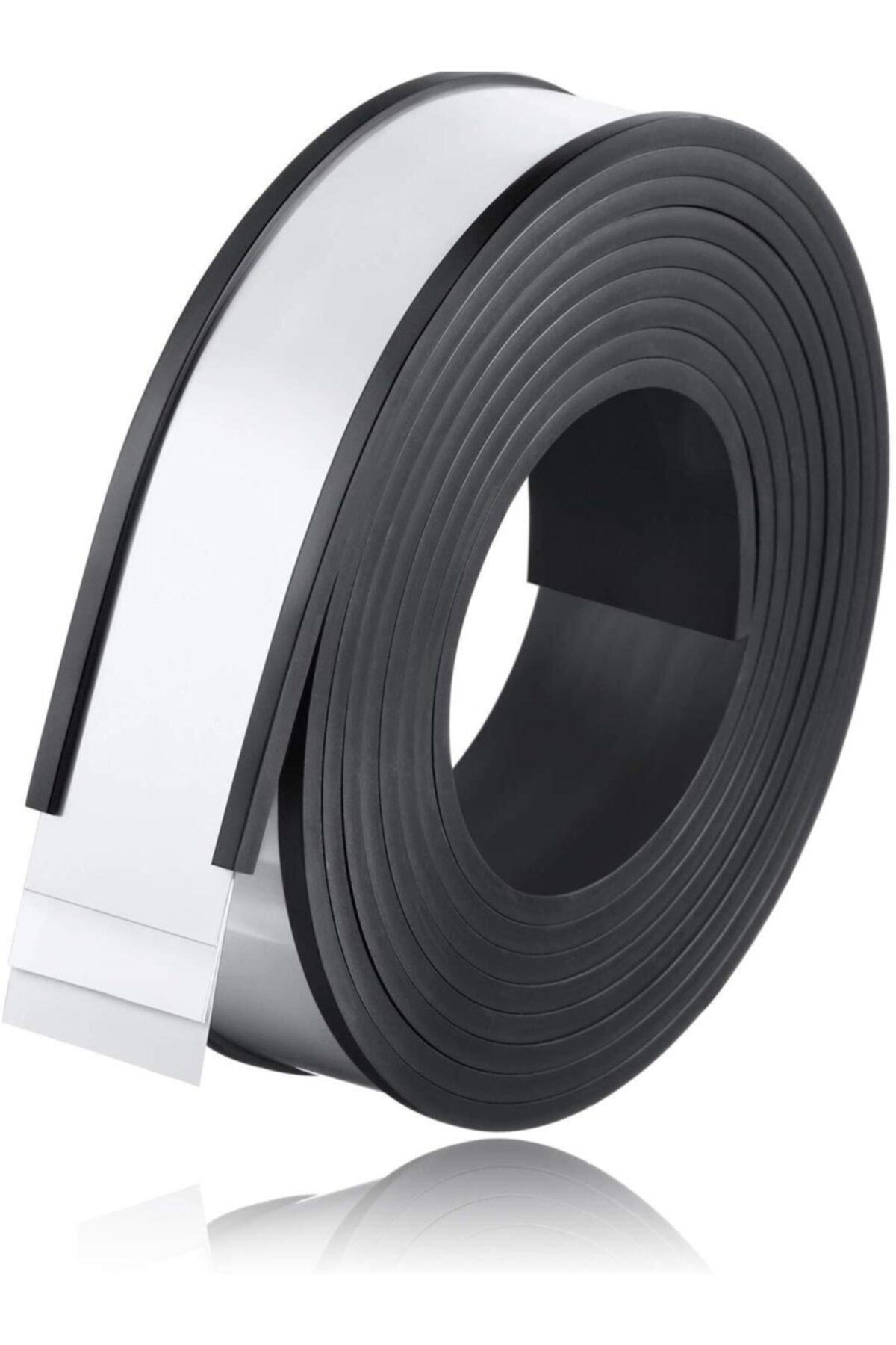 Dünya Magnet Kanallı Etiketlik Şerit Mıknatıs Raf Magneti En 40 cm Boy 1 m 2