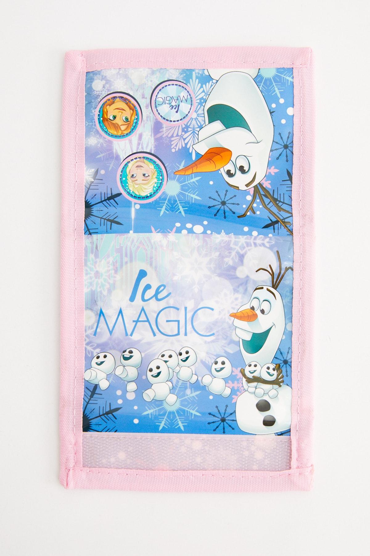 Disney Frozen Frozen Karakterli Çocuk Cüzdanı 2