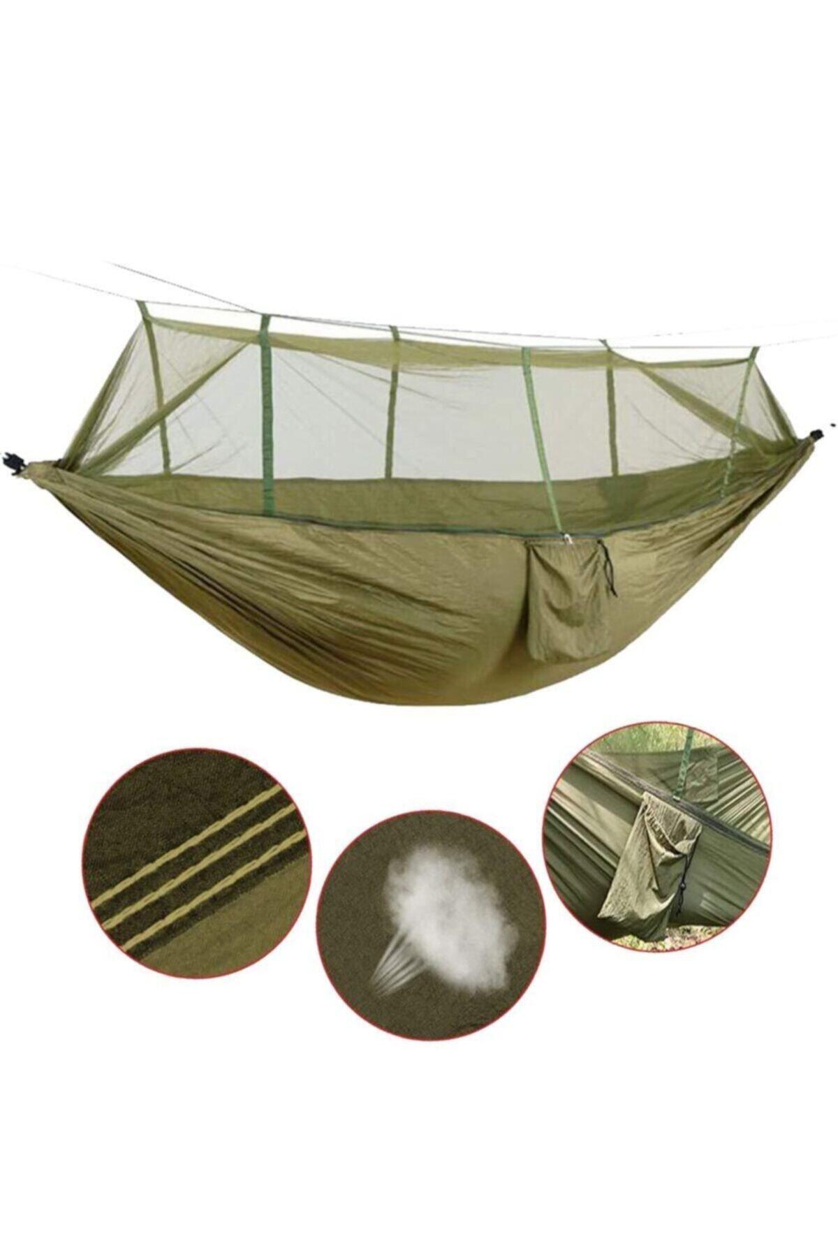 Meoa Taşınabilir Kamp Çift Açık Hafif Naylon Hamak 2