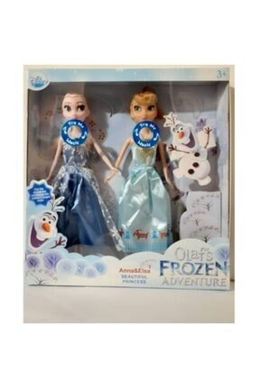 Anıl Karlar Ülkesi Frozen Şarkı Söyleyen Elsa Ve Anna 2'li Bebek