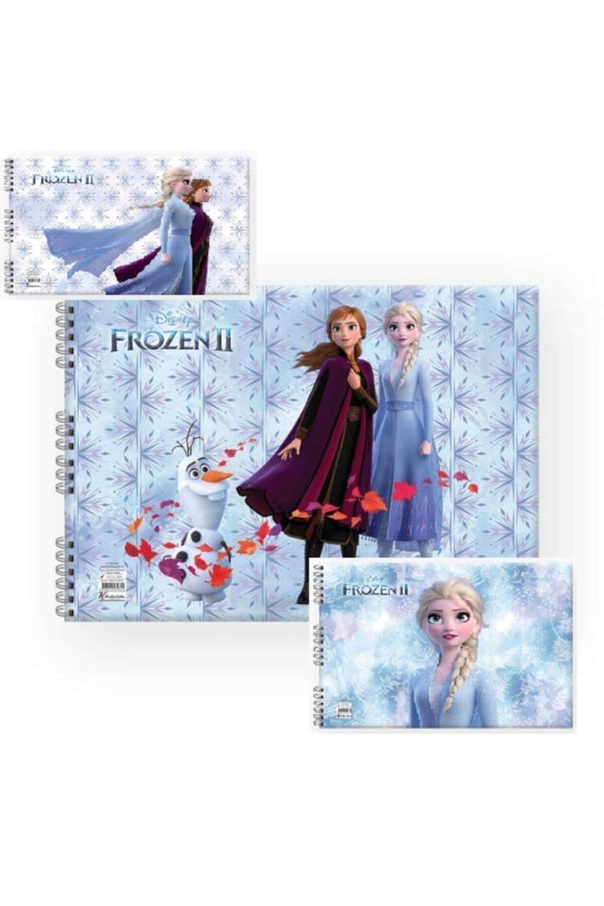 Disney Frozen 25x35 Telli Resim Defteri 1