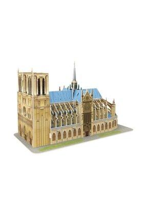 Neco Cubic Fun 53 Parça 3d Puzzle Notre Dame De Paris
