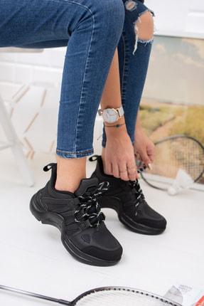 meyra moda Siyah Spor Ayakakbı