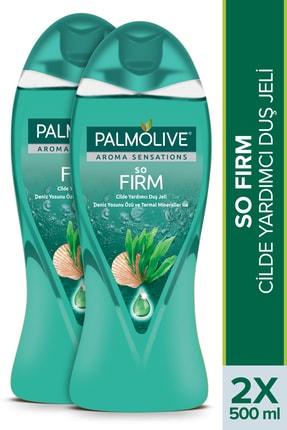 Palmolive Aroma Sensations So Firm Deniz Yosunu Özü ve Termal Mineraller Cilde Yardımcı Duş Jeli 500 ml x 2