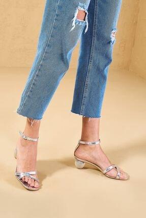 Louis Cardy Looter  Lame  Hakiki Deri Kadın Klasik Topuklu Ayakkabı