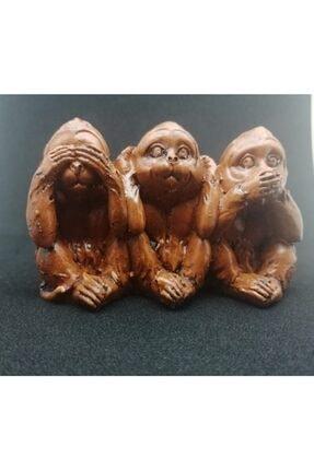 Wedo Üç Maymun Dekoratif Biblo