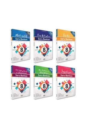 RTY Rota Yayınları 8. Sınıf Lgs  Tüm Dersler Soru Bankası Seti 6 Kitap