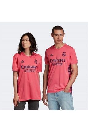 adidas Unisex Pembe Spor T-Shirt Real A Jsy