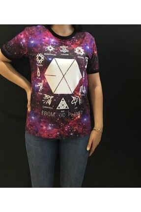 Panda Kadın From Exo Planet Baskılı T-shirt
