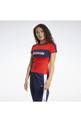 Reebok Kadın Kırmızı Te Linear Logo Deta