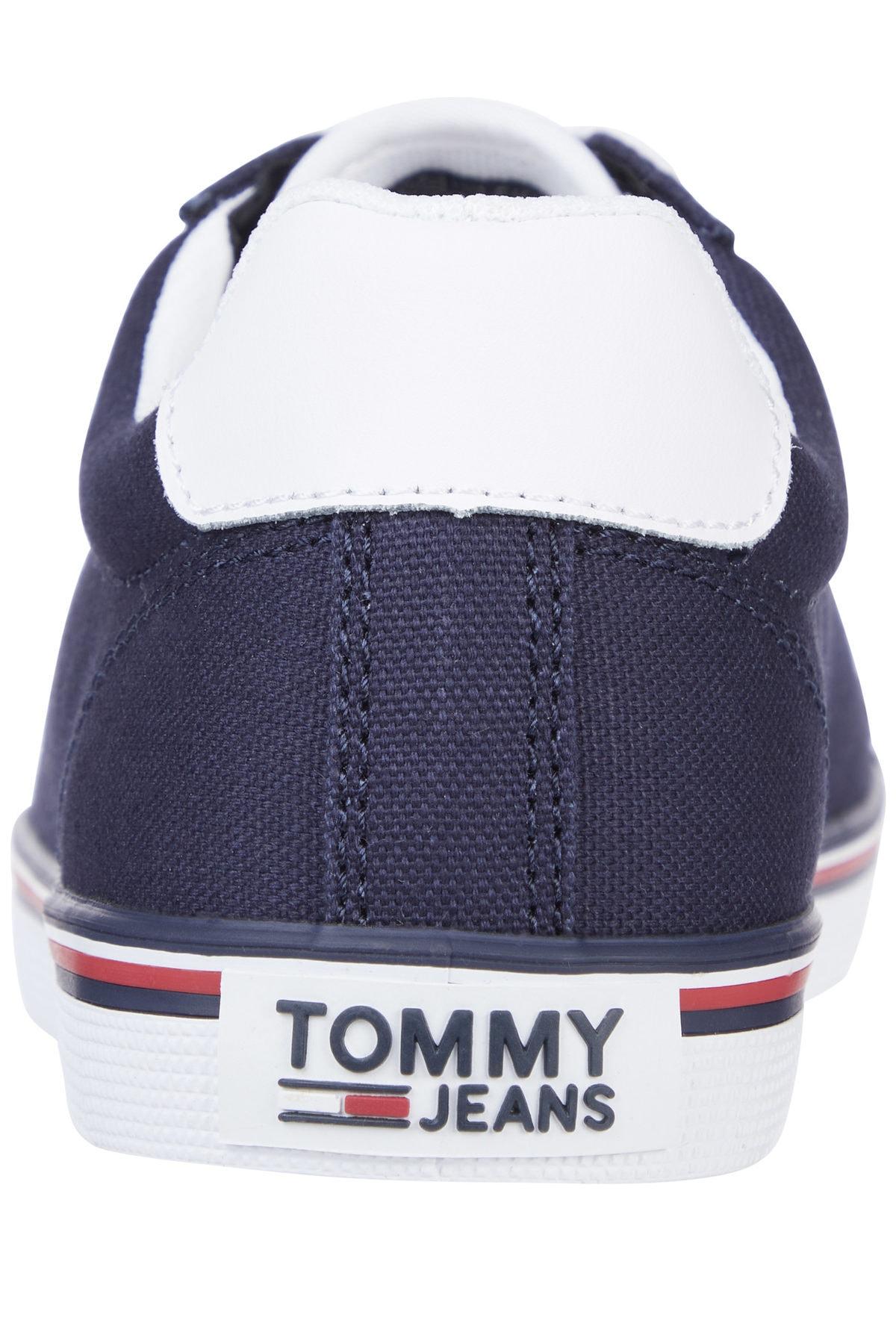 Tommy Hilfiger Kadın Mavi Sneaker Essentıal Lace Up Sneaker EN0EN00786 2