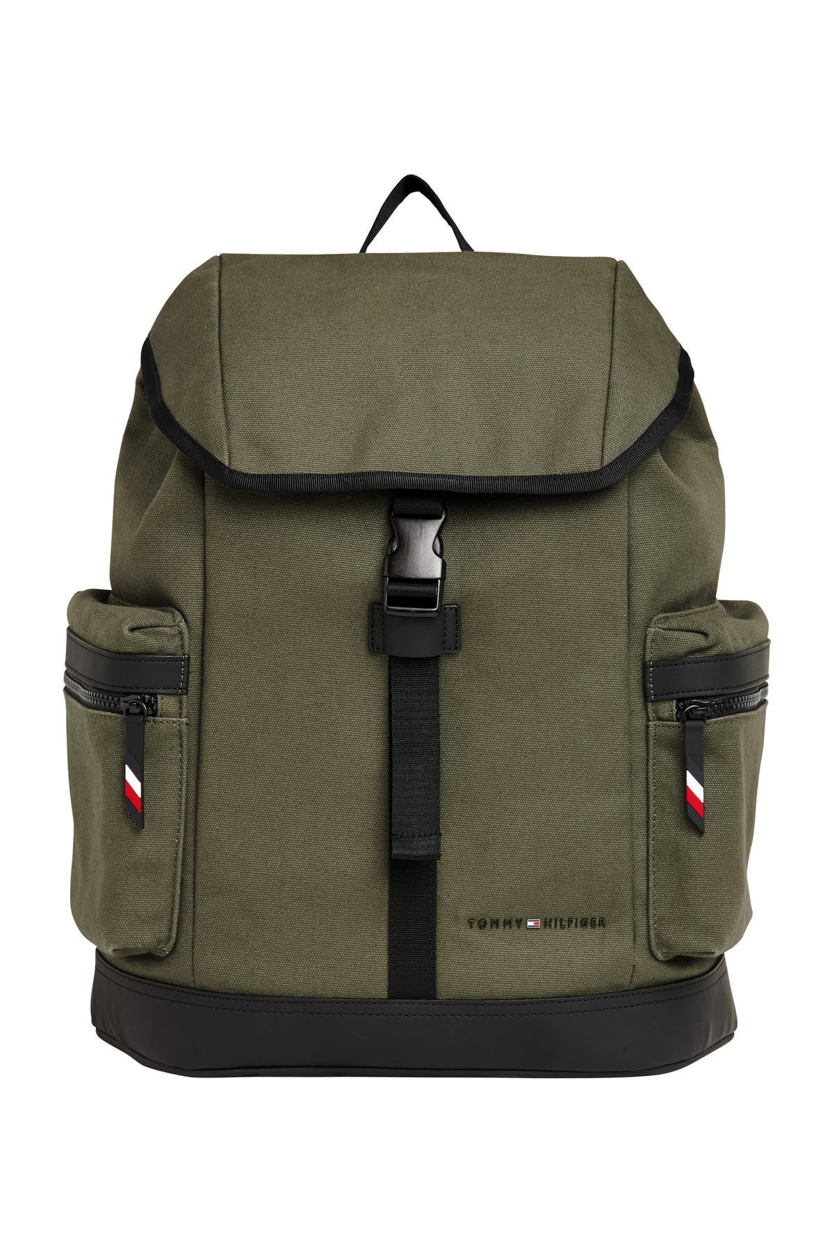 Tommy Hilfiger UTILITY CANVAS FLAP BACKPACK 1