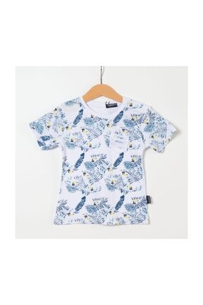 Miss Tuffy Erkek Bebek T-shirt G19-302