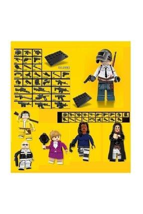 Legorange 6 Adet Lego Uyumlu Pubg Set