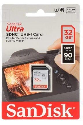 SanDisk Ultra Sdhc 32gb 10 Uhs-ı Hafıza Kartı Sdsdunr-032g-gn6ın