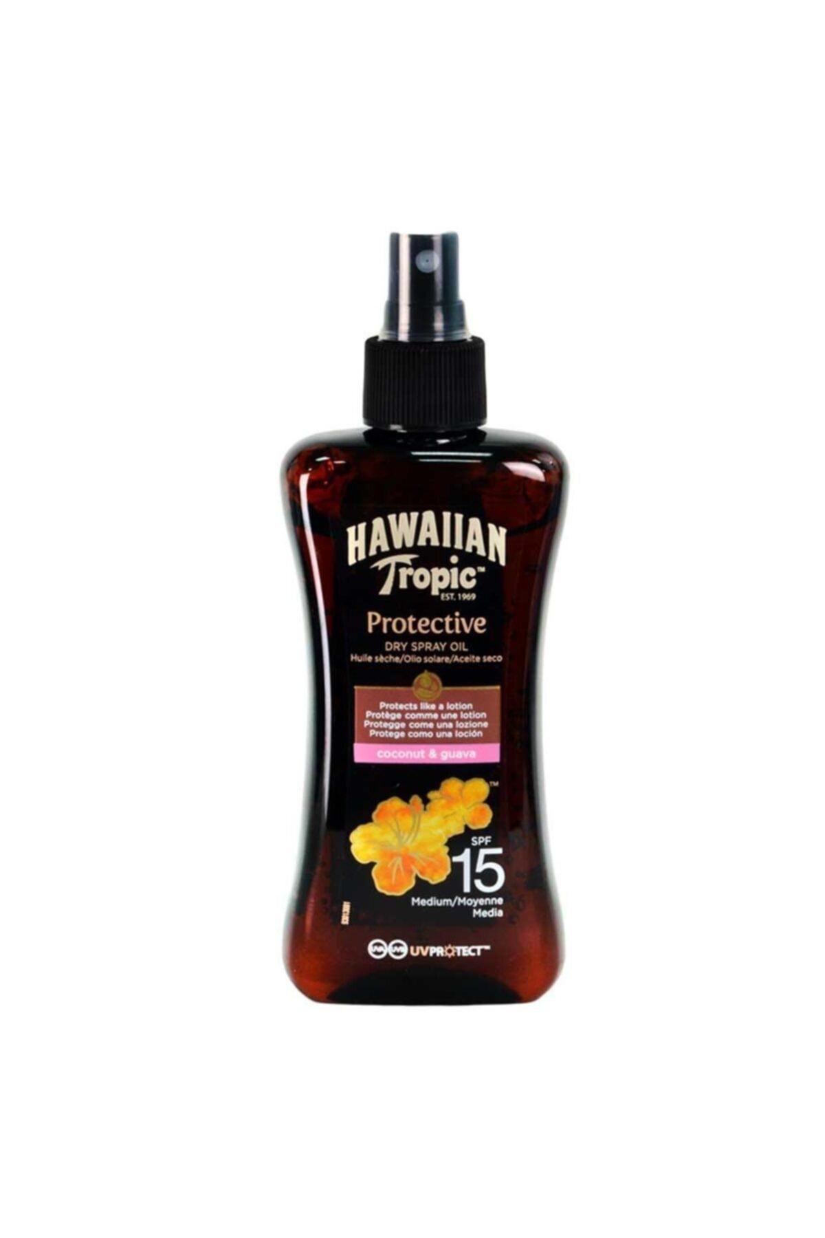 Hawaiian Tropic Hawaııan Tropıc Protectıve Carrot Oıl Spf15 200ml 1