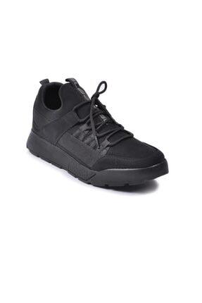 Slazenger Erkek Siyah Nubuk Zeber Spor Ayakkabı