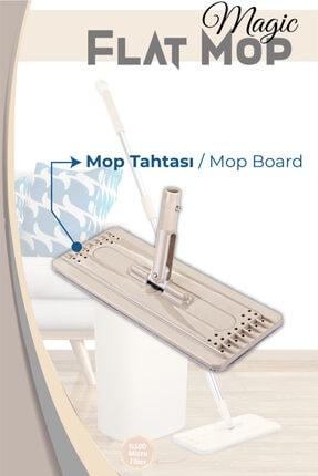Dünya Plastik Magic Flat (tablet) Mop Yedek Tahta
