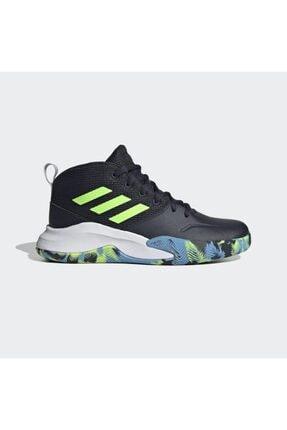 adidas Unisex Çocuk Siyah Basketbol Ayakkabısı