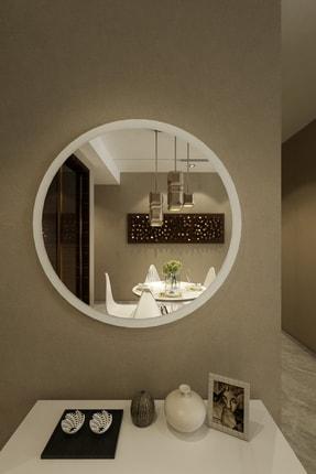 İkizlerçeyiz Wendy Dekoratif Konsol Aynası Beyaz 46 cm