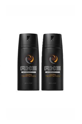 Axe Dark Temptatıon Deo Body Sprey 150 ml X 2