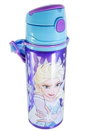 Hakan Çanta Disney Lisanslı Elsa Frozen Pipetli Çelik Matara