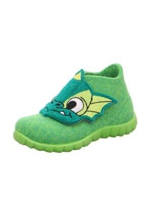 Superfit Erkek Çocuk Yeşil Ev Ayakkabısı
