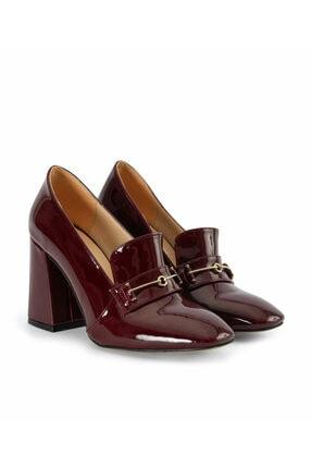 İpekyol Kadın Kırmızı Topuk Detaylı Ayakkabı