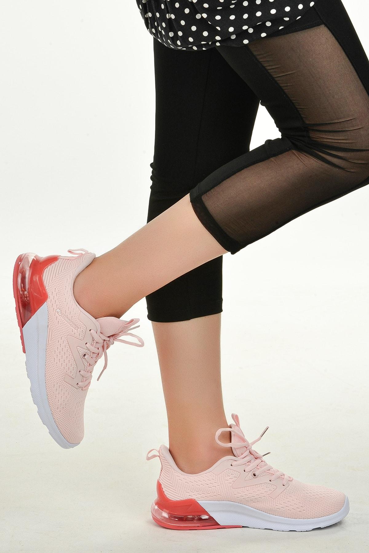 lumberjack Kadın Pembe Yürüyüş Koşu Spor Ayakkabı 2