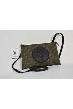U.S. Polo Assn. Kadın Haki Çanta US19558