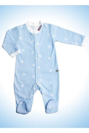 Babyglow Erkek Bebek Mavi Ateş Ölçer Bebek Tulumu