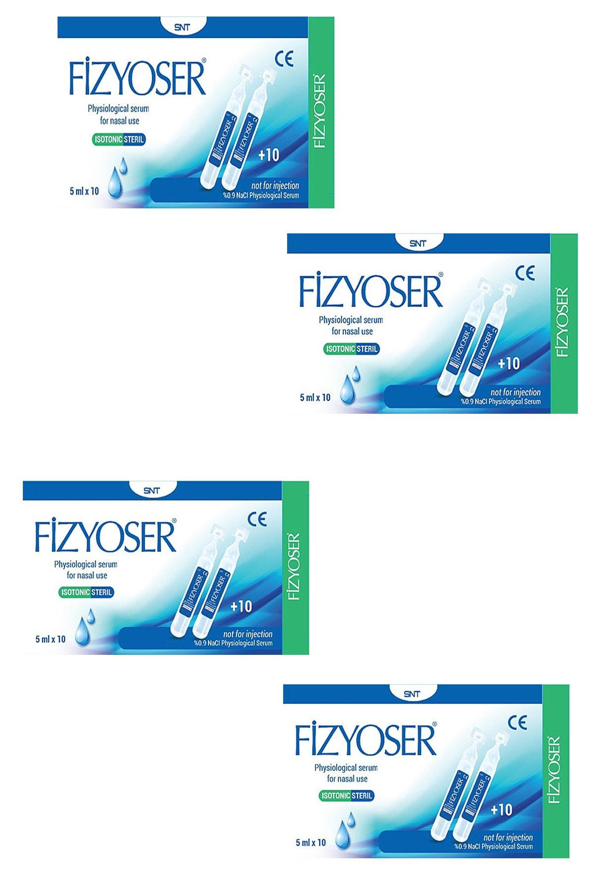 PHYMER Fizyoser Serum Fizyolojik 5 ml x 20 Flakon 4 Kutu 1