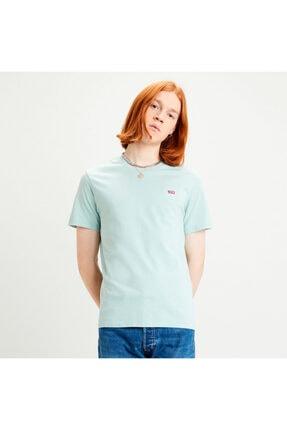 Levi's Erkek Yeşil Basic T-shirt 56605-0052