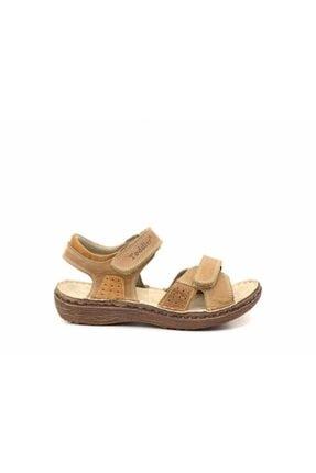 Toddler Erkek Çocuk Hakiki Deri Sandalet 2362
