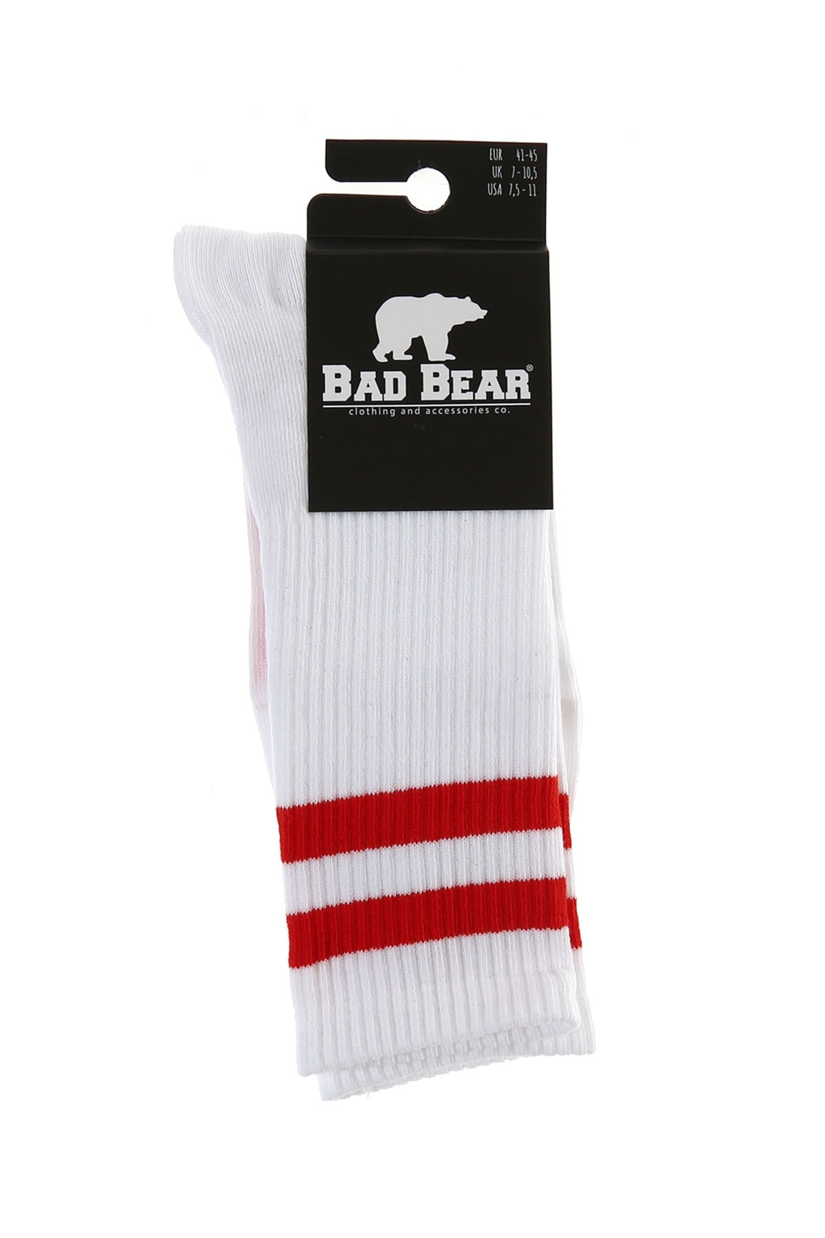 Bad Bear BENCH TALL WHITE-RED 1