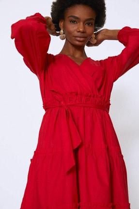 Kirmizi Quzu Kadin Elbise Modelleri Fiyatlari Trendyol