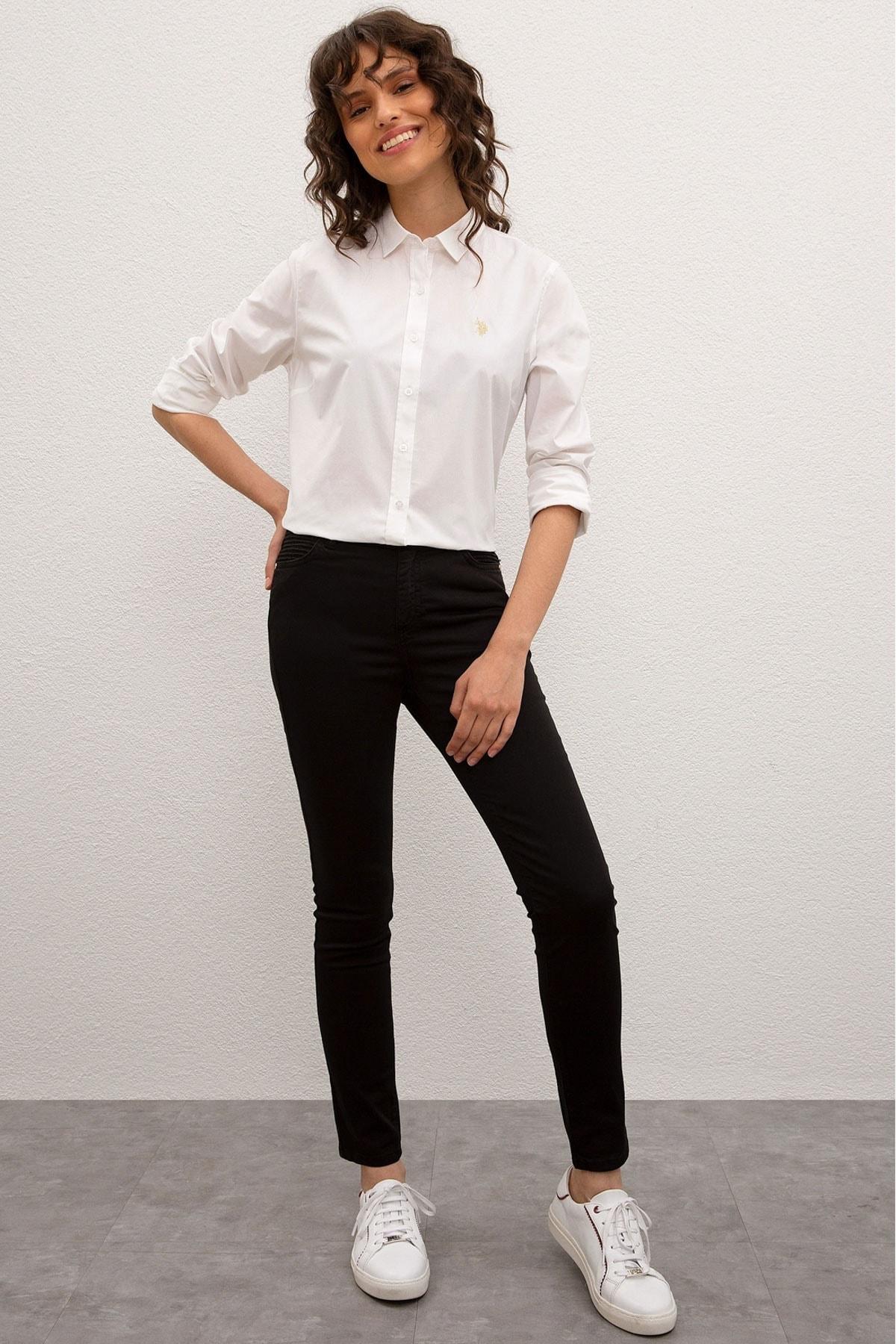 U.S. Polo Assn. Kadın Pantolon G082SZ078.000.976254 1