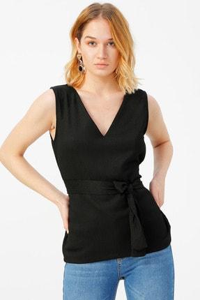Fabrika Kadın Siyah Bluz 504393073 Boyner