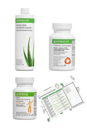 Herbalife Yağ Yakıcı Thermo Complete Aloe Vera İçecek