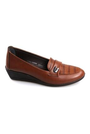 Polaris Kadın Taba Rengi Ortopedik Ayakkabı