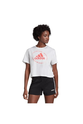 adidas Kadın Beyaz Tshirt